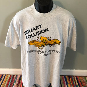 80s Autobody Collision Shirt Huntington Station NY